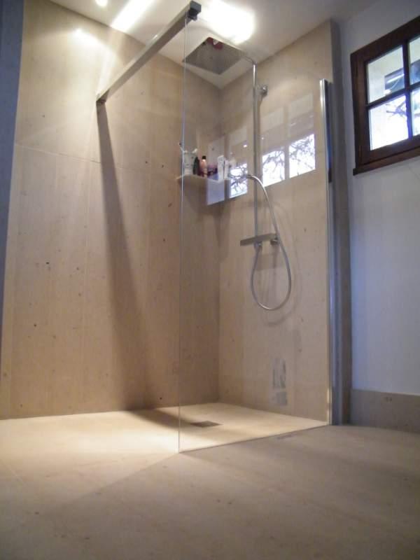 douche italienne pierre de taille